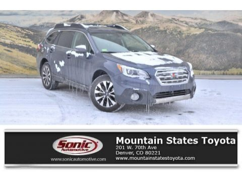 Carbide Gray Metallic 2017 Subaru Outback 3.6R Limited
