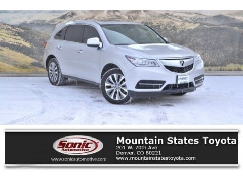 Silver Moon 2015 Acura MDX SH-AWD Technology