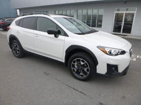 Crystal White Pearl 2019 Subaru Crosstrek 2.0i