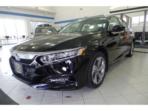 Crystal Black Pearl 2019 Honda Accord EX-L Sedan