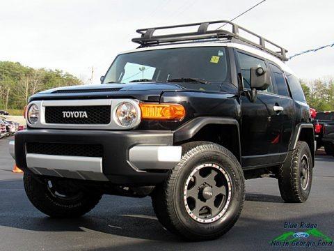 Black Diamond 2008 Toyota FJ Cruiser 4WD