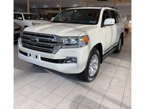 Blizzard White Pearl 2019 Toyota Land Cruiser 4WD