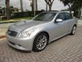 Infiniti G 35 S Sport Sedan Liquid Platinum Silver photo #1