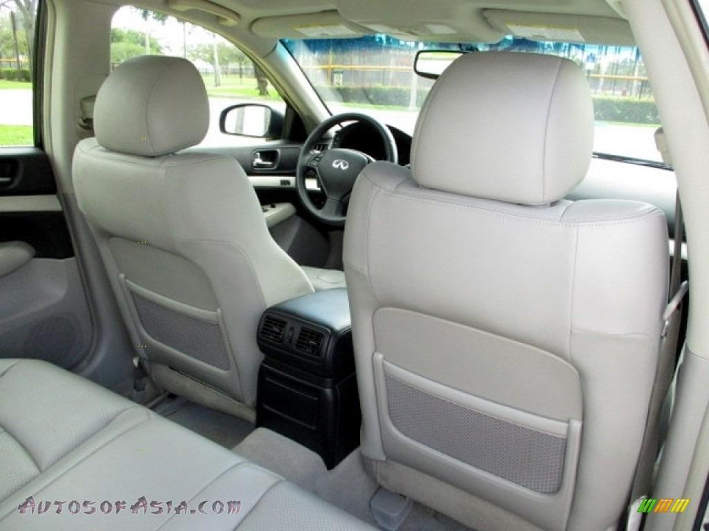 2008 G 35 S Sport Sedan - Liquid Platinum Silver / Stone photo #18