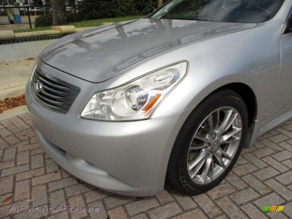 2008 G 35 S Sport Sedan - Liquid Platinum Silver / Stone photo #37