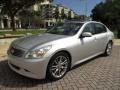 Infiniti G 35 S Sport Sedan Liquid Platinum Silver photo #44