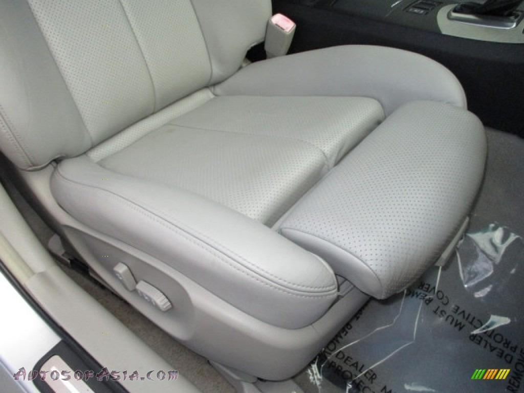 2008 G 35 S Sport Sedan - Liquid Platinum Silver / Stone photo #67