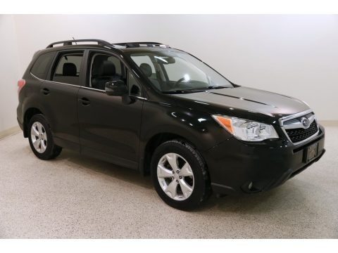 Crystal Black Silica 2014 Subaru Forester 2.5i Touring