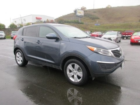 Twilight Blue 2013 Kia Sportage LX AWD