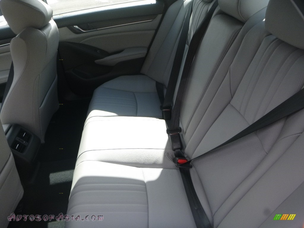 2019 Accord EX-L Sedan - Obsidian Blue Pearl / Gray photo #9