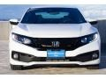 Honda Civic Sport Coupe Platinum White Pearl photo #3