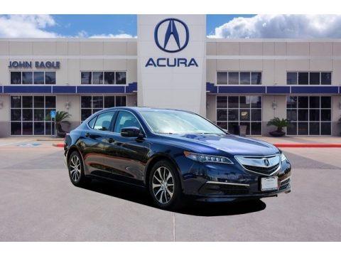 Fathom Blue Pearl 2016 Acura TLX 2.4
