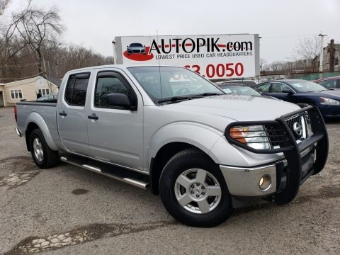 Radiant Silver 2007 Nissan Frontier SE Crew Cab 4x4