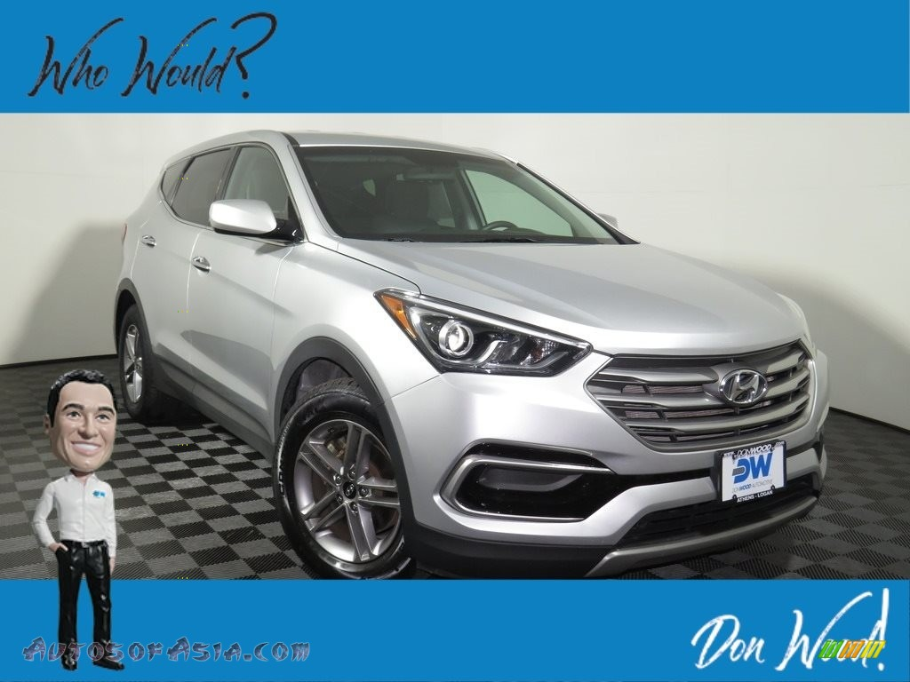 2017 Santa Fe Sport AWD - Sparkling Silver / Gray photo #1