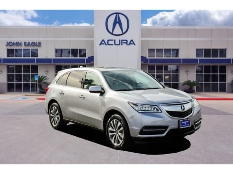 Lunar Silver Metallic 2016 Acura MDX Technology