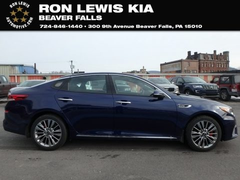 Horizon Blue 2019 Kia Optima SX