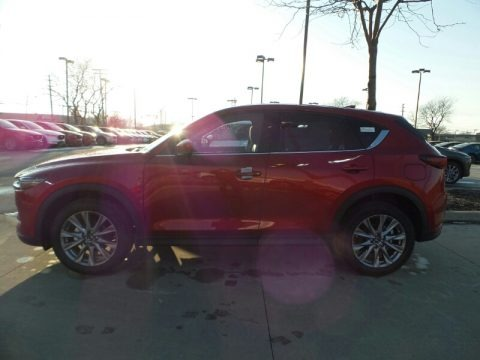 Soul Red Crystal Metallic 2019 Mazda CX-5 Grand Touring AWD