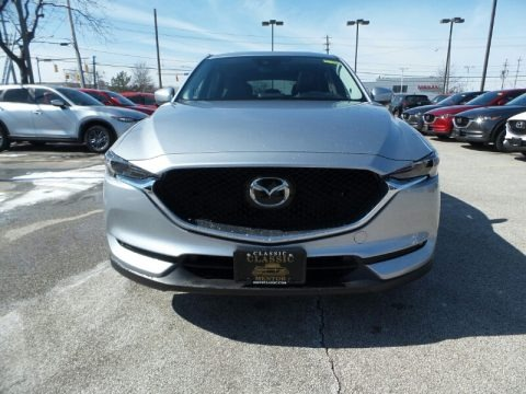 Sonic Silver Metallic 2019 Mazda CX-5 Grand Touring AWD