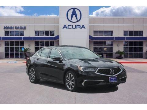 Crystal Black Pearl 2019 Acura TLX V6 SH-AWD Technology Sedan