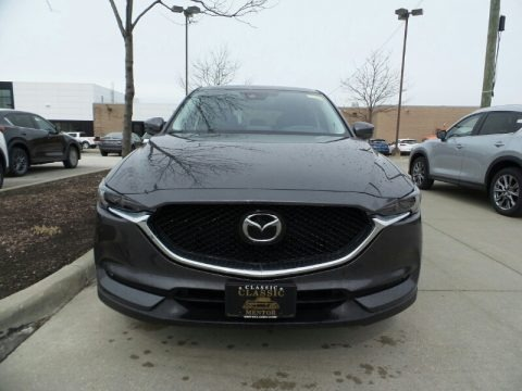 Machine Gray Metallic 2019 Mazda CX-5 Grand Touring AWD
