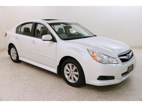 Satin White Pearl 2012 Subaru Legacy 2.5i Premium