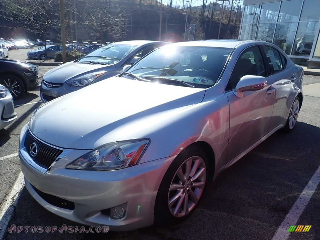2010 IS 250 AWD - Tungsten Silver Pearl / Black photo #1