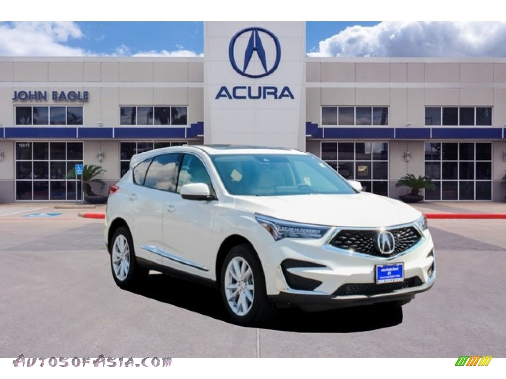 2019 RDX AWD - White Diamond Pearl / Parchment photo #1