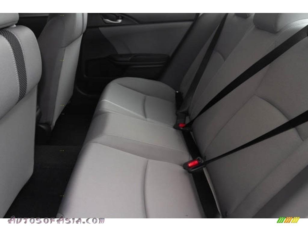 2019 Civic LX Sedan - Cosmic Blue Metallic / Gray photo #17