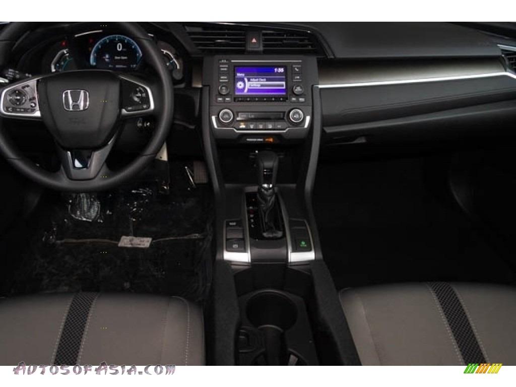 2019 Civic LX Sedan - Cosmic Blue Metallic / Gray photo #18