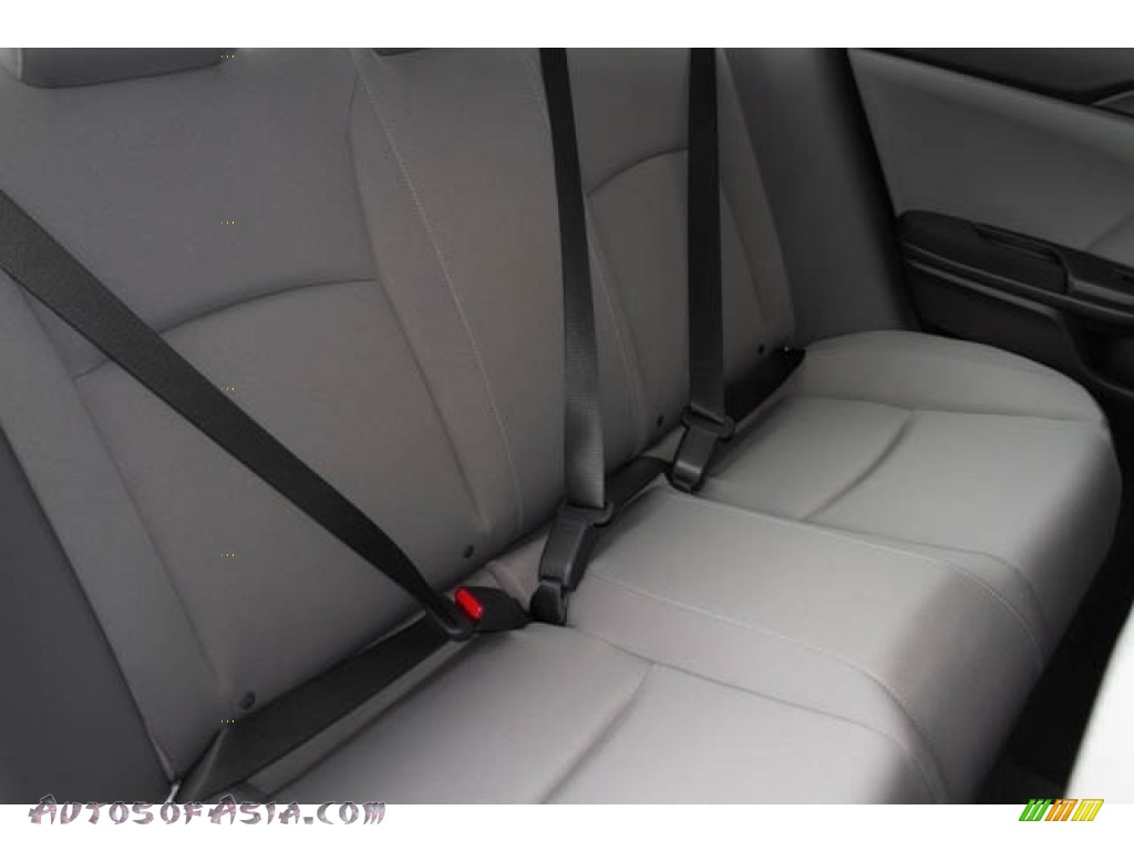 2019 Civic LX Sedan - Cosmic Blue Metallic / Gray photo #27