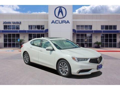 Lunar Silver Metallic 2019 Acura TLX Sedan