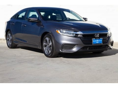 Modern Steel Metallic 2019 Honda Insight EX