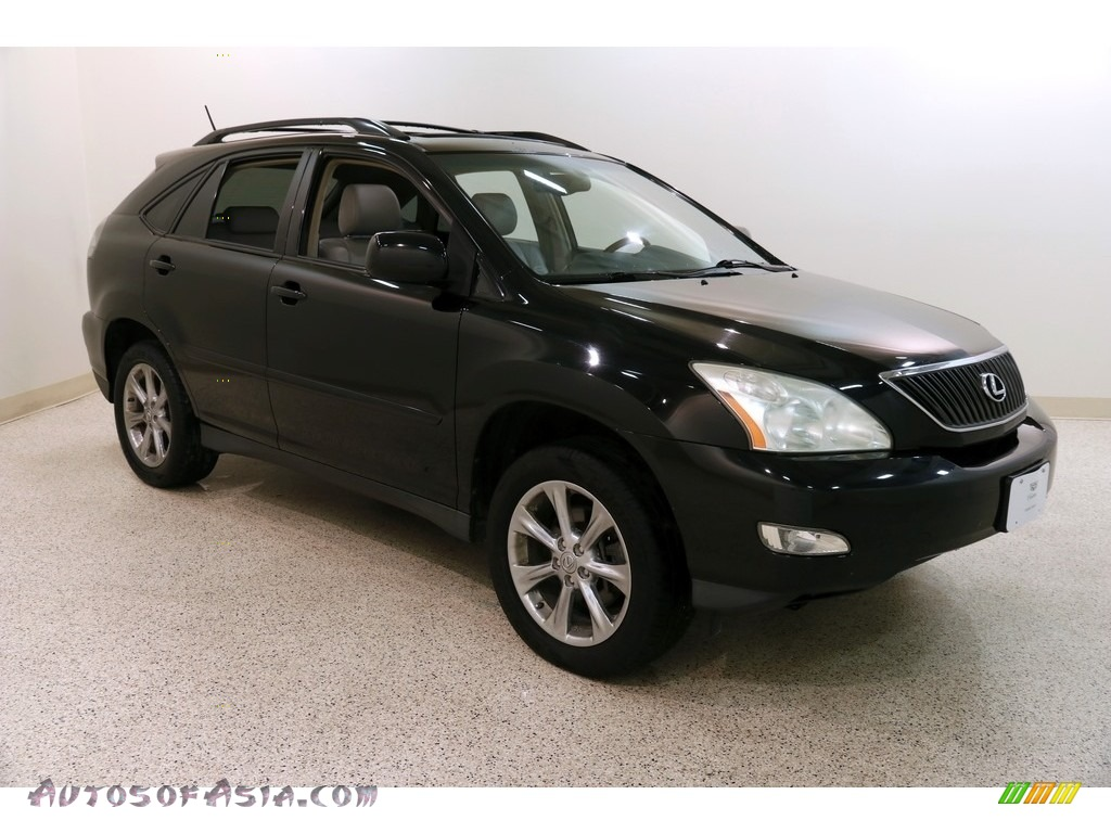2004 RX 330 - Black Onyx / Light Gray photo #1