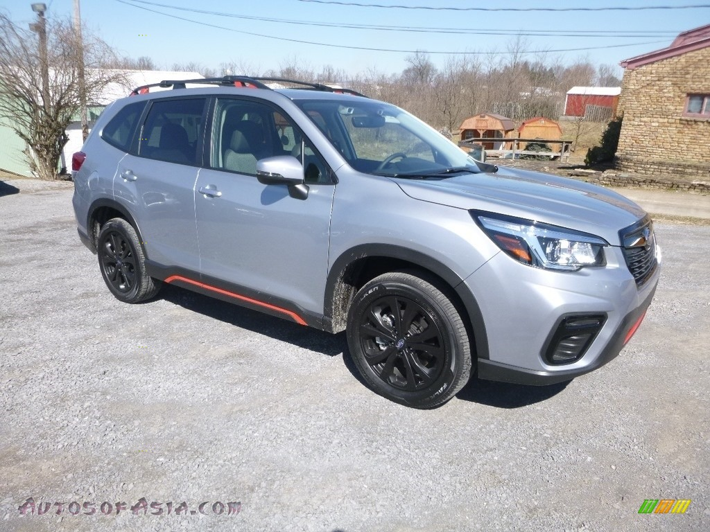 2019 Forester 2.5i Sport - Ice Silver Metallic / Gray Sport photo #1
