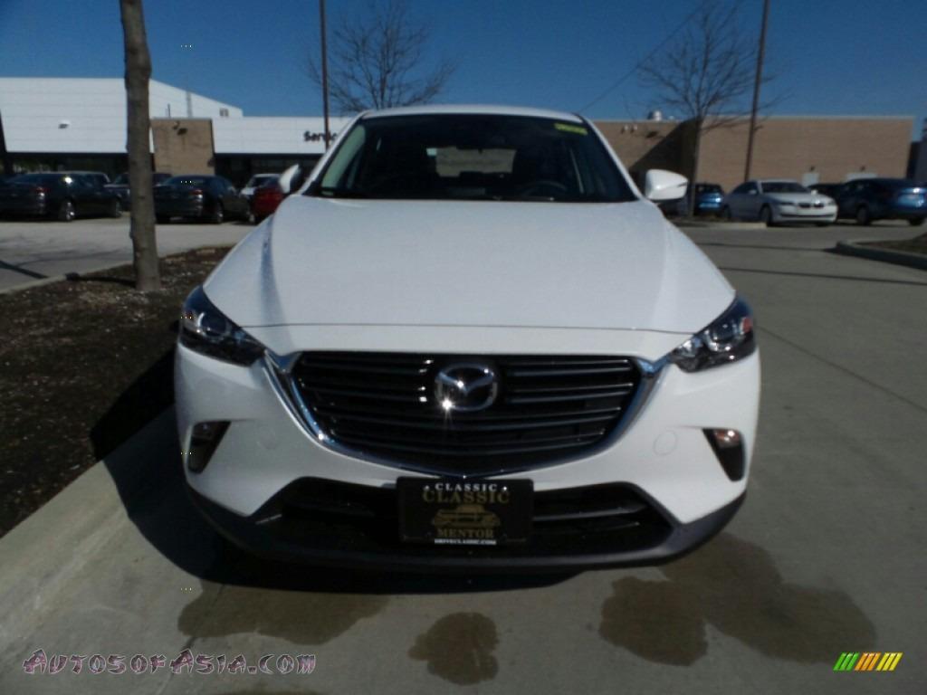 2019 CX-3 Touring AWD - Snowflake White Pearl Mica / Black photo #1