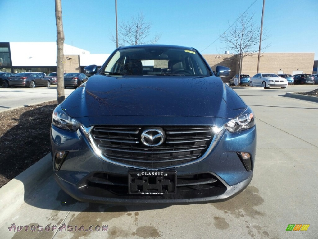 2019 CX-3 Touring AWD - Eternal Blue Mica / Black photo #1