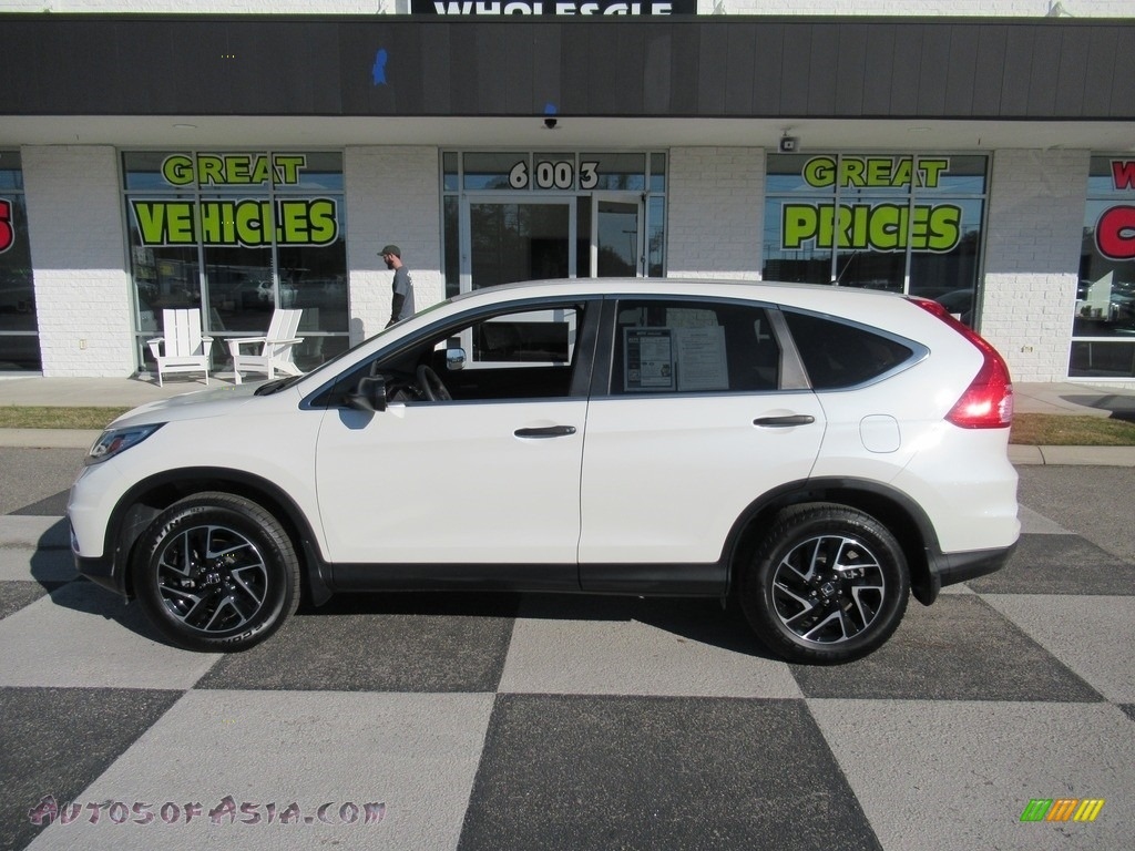 2016 CR-V SE - White Diamond Pearl / Beige photo #1