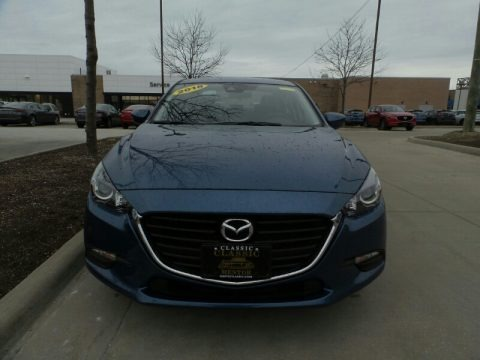 Eternal Blue Mica 2018 Mazda MAZDA3 Touring 4 Door
