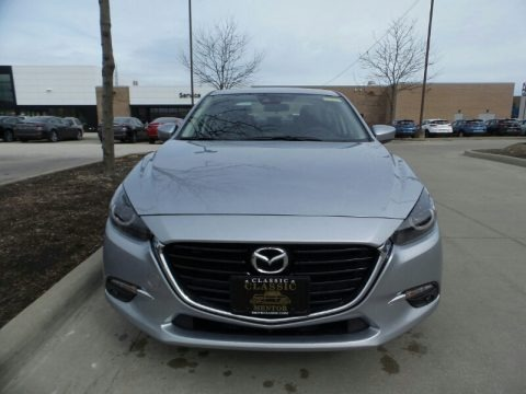 Sonic Silver Metallic 2018 Mazda MAZDA3 Grand Touring 4 Door