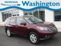 Honda CR-V EX-L AWD Basque Red Pearl II photo #1