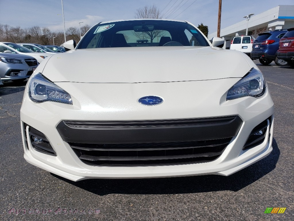 2019 BRZ Limited - Crystal White Pearl / Black photo #2