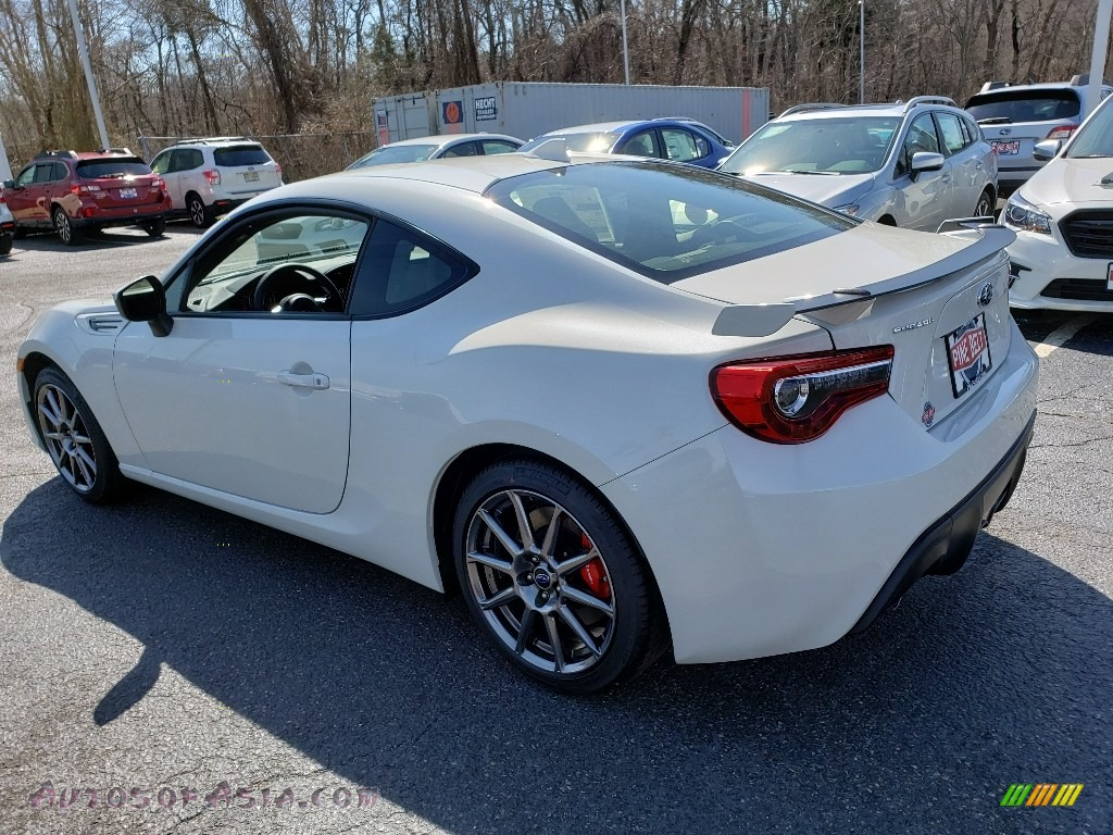 2019 BRZ Limited - Crystal White Pearl / Black photo #4