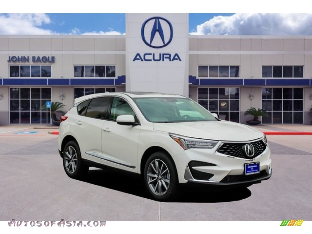 White Diamond Pearl / Parchment Acura RDX Technology AWD