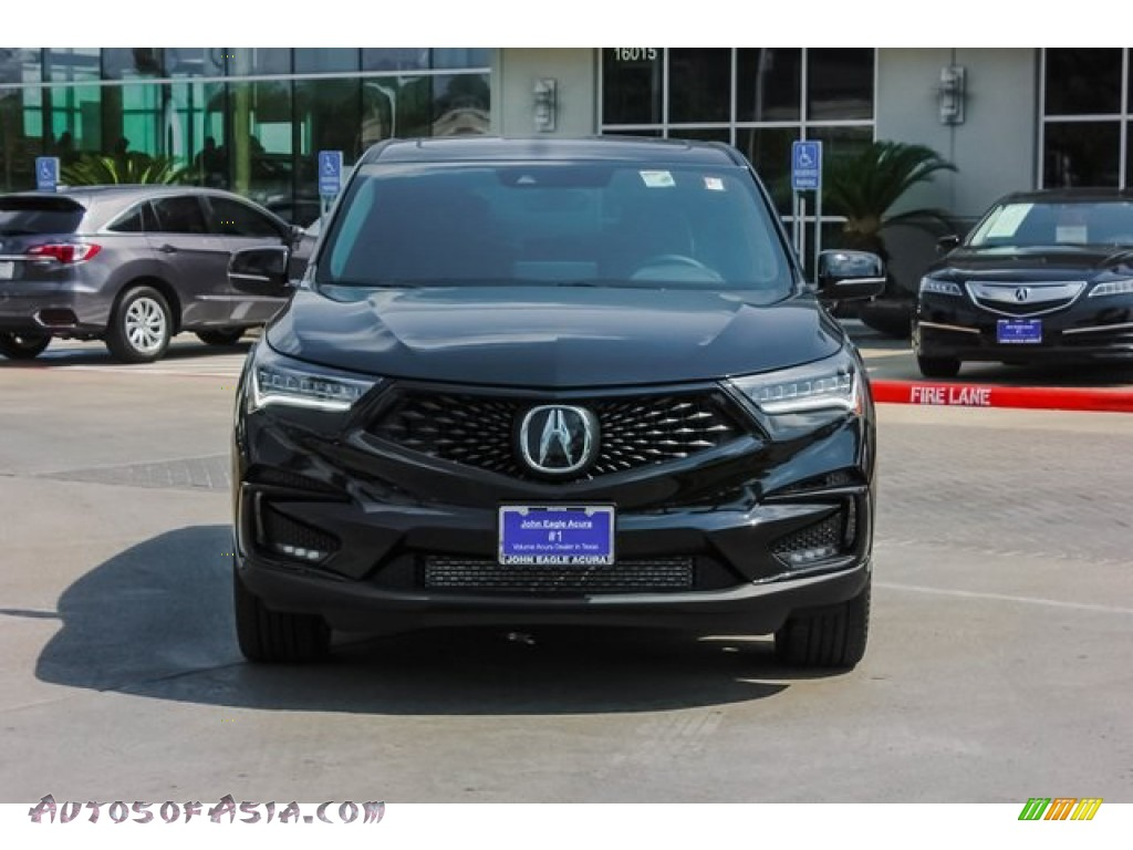 2019 RDX A-Spec - Majestic Black Pearl / Ebony photo #2