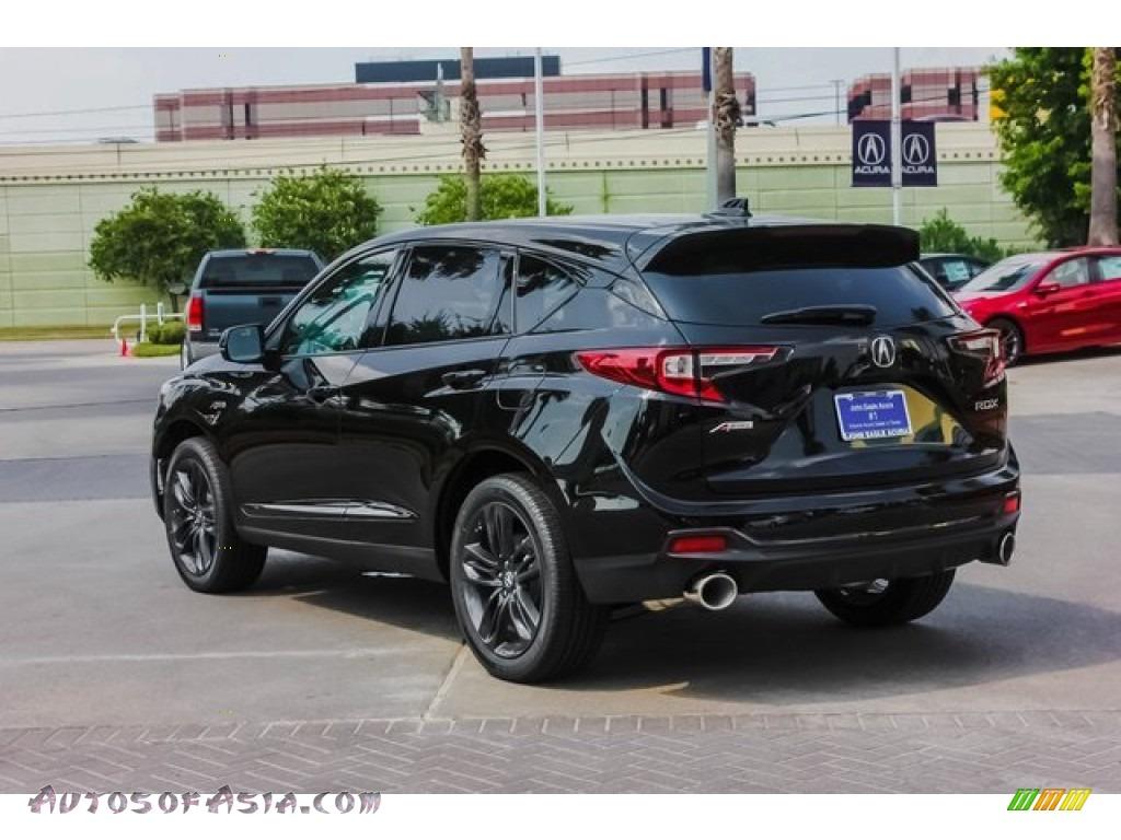 2019 RDX A-Spec - Majestic Black Pearl / Ebony photo #5