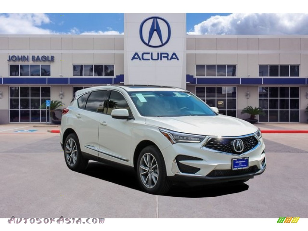 2019 RDX Technology - White Diamond Pearl / Parchment photo #1