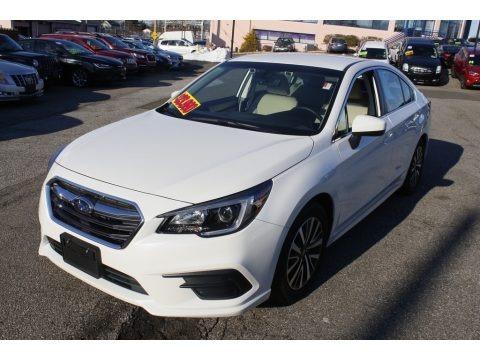Crystal White Pearl 2019 Subaru Legacy 2.5i Premium