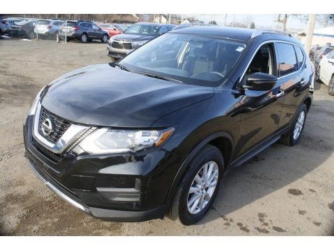 Magnetic Black 2017 Nissan Rogue SV AWD