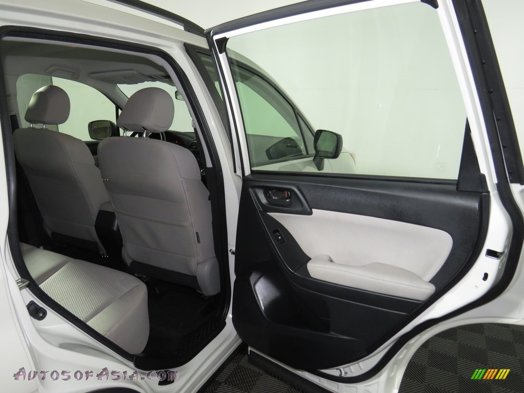 2015 Forester 2.5i - Satin White Pearl / Gray photo #7