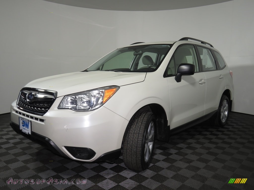 2015 Forester 2.5i - Satin White Pearl / Gray photo #21